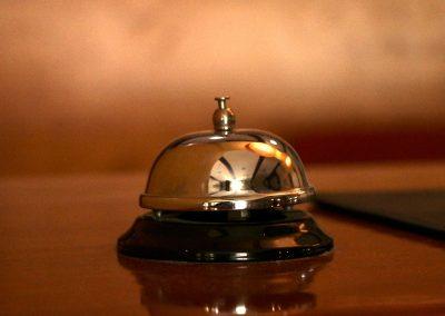 Hotel El Carmen - Detalle Recepción