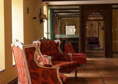 Hotel El Carmen - Recepción