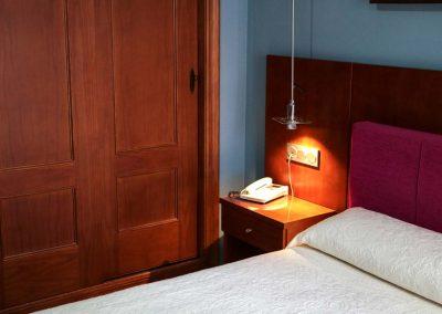 Hotel El Carmen - Detalles Habitaciones