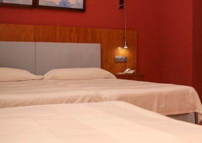 Hotel El Carmen - Detalles de Habitaciones