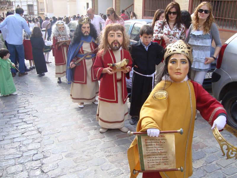 "La Semana Santa ""chiquita"" de Puente Genil"